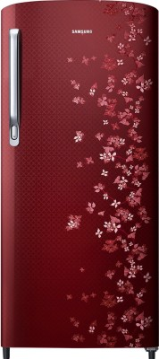 Haier 195 L Direct Cool Single Door 4 Star Refrigerator(Brushline Silver, HRD-1954BS-R/E)