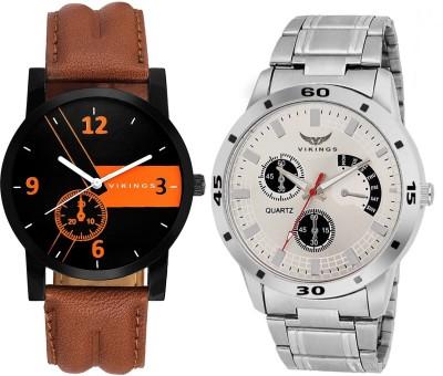 VIKINGS Rich combo of Stylish Watch  - For Men & Women   Watches  (VIKINGS)