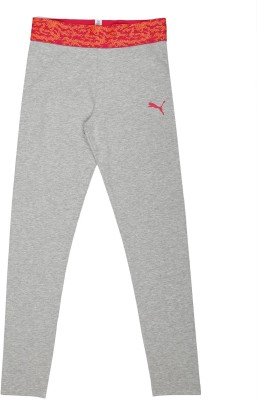 Puma Track Pant For Girl's(Grey Pack of 1)  available at flipkart for Rs.1039