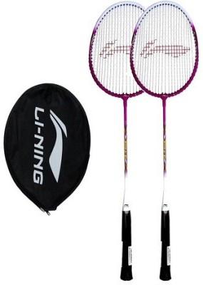 Li Ning SMASH XP 708 Badminton Racquet Purple Strung Badminton Racquet Pack of: 1, 85 g Li Ning Badminton Racquet