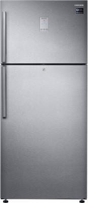 Samsung 551 L Frost Free Double Door 2 Star (2019) Refrigerator(Easy Clean Steel, RT56K6378SL)