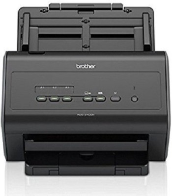 brother Document Handler Scanner ADS-2400N Scanner(Black) at flipkart