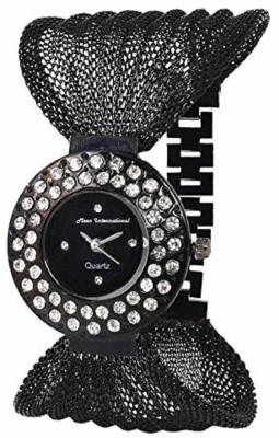 Maan International Super Black Jaal Very Cute Queen Mazic Dial Watch  - For Girls   Watches  (Maan International)