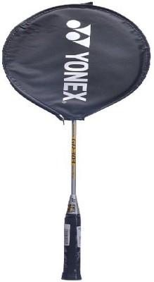 Yonex GR 303 Badminton Racquet G3 Strung(Silver, Weight - 90 g)  available at flipkart for Rs.550