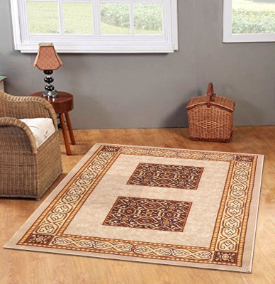 Status Brown Nylon Carpet(121 cm  X 182 cm) at flipkart