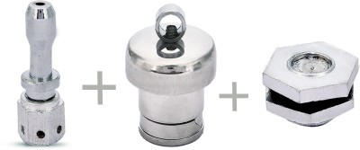 Anmol Pressure Cooker Whistle And Nozzel with Nut Combo(Inner Lid) Cookware Set(Aluminium, 3 - Piece)  available at flipkart for Rs.282