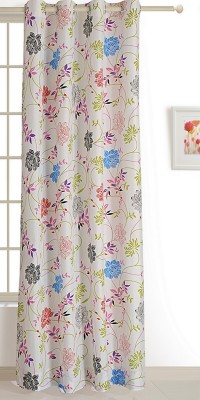 Swayam ECO Polyester Window Curtain 152 cm (4.9ft) Single Curtain(Floral Multicolor)  available at flipkart for Rs.509