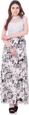 Aayu Women's Maxi White Dress