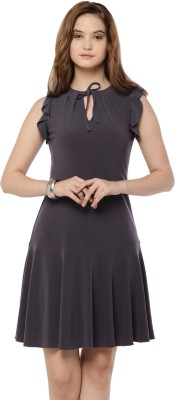Bella Figura Couture Women A-line Grey Dress