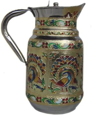 Rastogi Handicrafts 1.5 L Water j 10010 Jug Steel Rastogi Handicrafts Pitchers