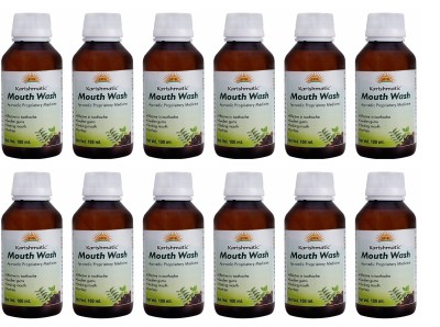 Karishmatic Mouth Wash - Pack of 12 , 100ml each - Menthol(1200 ml)