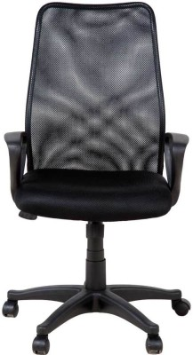 Perfect Homes by Flipkart Howard Fabric Office Executive Chair(Black)