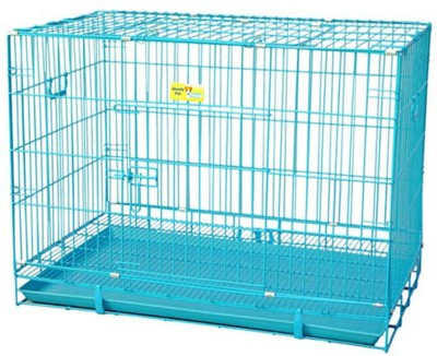 Goofy Tails Dog Steel Cage XL 42 inch Dog House