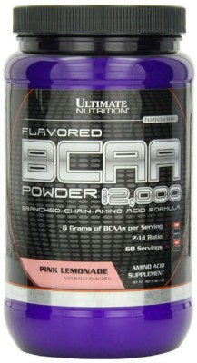 Ultimate Nutrition BCAA Powder 12000 (457gm / 1.01lbs, Lemon)
