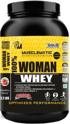 Musclematic Whey Protein(1 kg, strawberry)