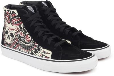 030b3682c10 66% OFF on Vans SK8-Hi Reissue High Ankle Sneakers For Men(Black) on  Flipkart