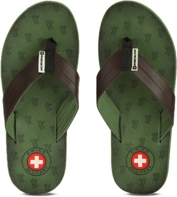Swiss Military Maharaj 5 Flip Flops at flipkart