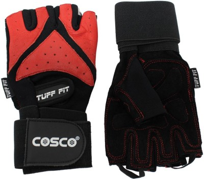 Cosco Exercise Tuff Fit Gym & Fitness Gloves (M, Multicolor)  available at flipkart for Rs.1239