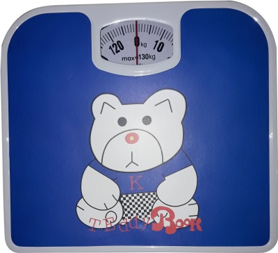 Recombigen Blue Teddy Weighing Scale(Blue)