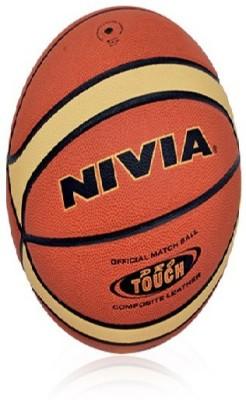 NIVIA Pro Touch Basketball Basketball   Size: 7 Pack of 1, Multicolor NIVIA Basketballs