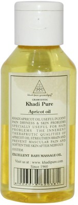 Khadi Pure Herbal Apricot Oil 100ml