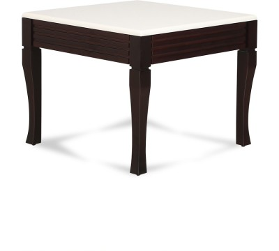 Crystal Furnitech Engineered Wood Coffee Table(Finish Color - white & wenge)
