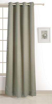 Swayam ECO Polyester Window Curtain 152 cm (4.9ft) Single Curtain(Solid Green)  available at flipkart for Rs.424