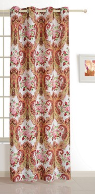 Swayam ECO Polyester Window Curtain 152 cm (4.9ft) Single Curtain(Motif Multicolor)  available at flipkart for Rs.509