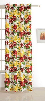 Swayam ECO Polyester Window Curtain 150 cm (4.8ft) Single Curtain(Floral Multicolor)  available at flipkart for Rs.509