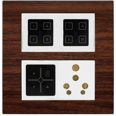REINS 5 One Way Electrical Switch(Pack of 2 Number of Switches - 8) Flipkart