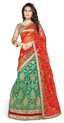a3dc472c04 49% OFF on Divastri Net Embroidered, Embellished Semi-stitched Lehenga  Choli Material on Flipkart | PaisaWapas.com