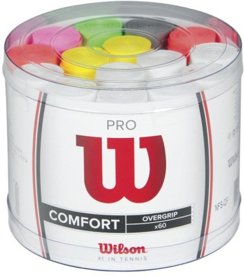 Wilson Pro Overgrip Coil  Grip(Multicolor, Pack of 1)