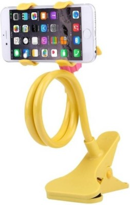 SHOPAIS Universal Flexible 360 Digree Snake Style Long Lazy Stand Yellow Mobile Holder SHOPAIS Mobile Holders