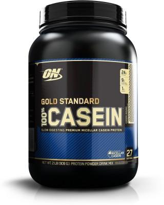 Optimum Nutrition Gold Standard 100% Casein Protein (907gm / 2lbs, Cookies and Cream)