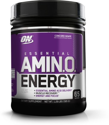 Optimum Nutrition Essential Amino Energy BCAA (585gm, Grape)