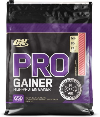 Optimum Nutrition Pro Gainer (4.62Kg / 10.19lbs, Strawberry)