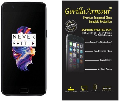 Gorilla Armour Tempered Glass Guard for OnePlus 5 (6+64 GB)(Pack of 1)