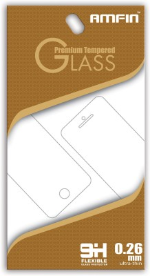 AMFIN Tempered Glass Guard for Oppo A57(Pack of 1)