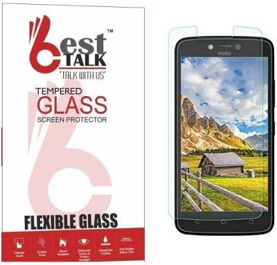 BESTTALK Tempered Glass Guard for Motorola Moto C Plus(Pack of 1)