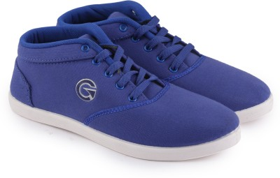 Globalite Crux Canvas Shoes For Men(Navy)  available at flipkart for Rs.289