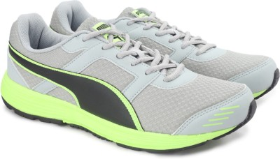 Puma Harbour Fashion DP Running Shoes For Men(Grey) at flipkart
