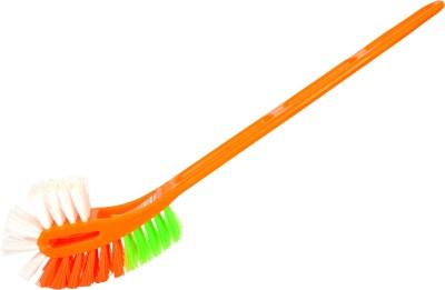 Shaurya Saran Brush 8177-54 Toilet Brush(Orange)
