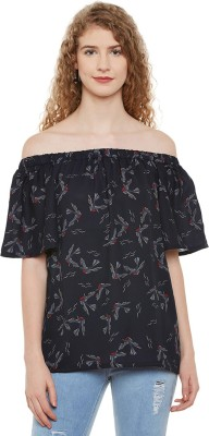 Miss Chase Casual Half Sleeve Printed Women