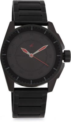 Fastrack NG3089NM01C Black Magic Analog Watch   For Men Fastrack Wrist Watches