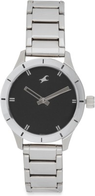 Fastrack 6078SM06 Monochrome Analog Black Dial Women's Watch (6078SM06)