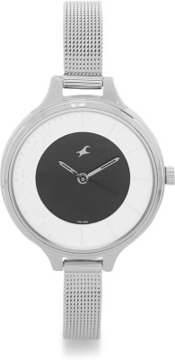 Fastrack NG6122SM02 Analog Black Dial Women's Watch