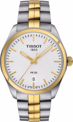 Tissot T1014102203100 Analogue Silver Dial Men's Watch (T1014102203100)
