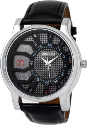 Abrexo Abx-1178BLK (Casual+Formal+Partywear) Exclusive Ring Series Analog Watch  - For Boys