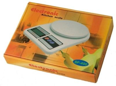 CrackaDeal 113-RSF-412 Weighing Scale(White) at flipkart