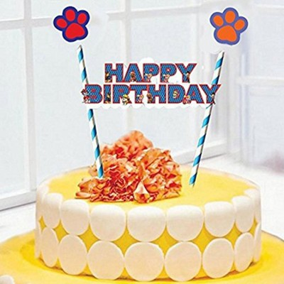 42 OFF On PARTY PROPZ PAW PATROL CAKE TOPPER SET OF 1 BIRTHDAY DECORATION SUPPLIES